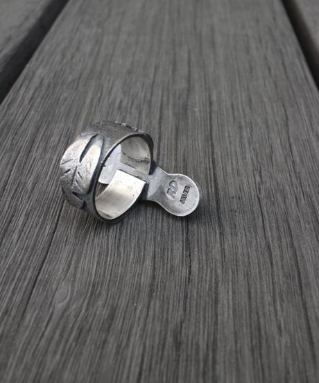 Ring - Zebra / Leaf / Footprints【1点物】