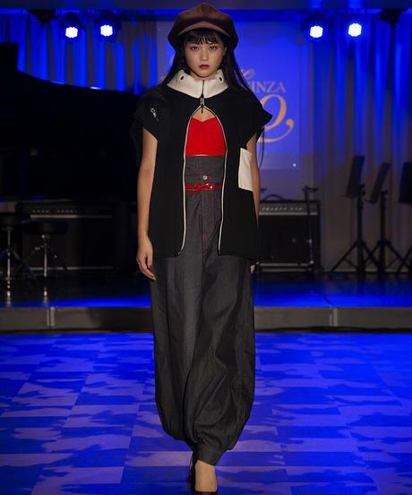 Luxury / Ninja hoodie sleeveless / 忍者 パーカー ノースリーヴ / 20008