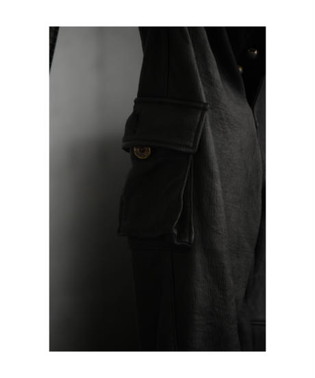 "WILDFRÄULEIN""Dear jungle leather skiny cargo pant"""