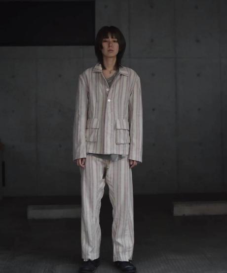 "Jobi fret roop 2022 s/s ""Set up nel suit"" jacket&pants"
