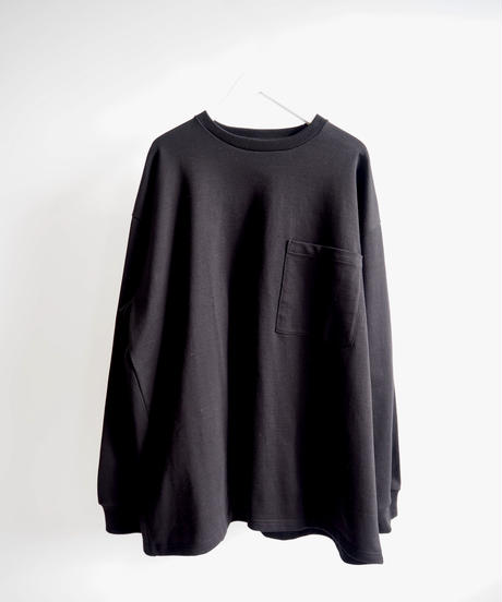"Graphpaper ""Heavy Weight L/S Oversized Tee"" black"