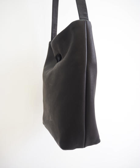 "Aeta ""DA03 / DEER LEATHER SHOULDER S "" black"