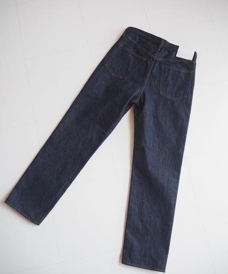 "UNUSED "" UW0819 13oz denim five pockets pants"" indigo short length women"