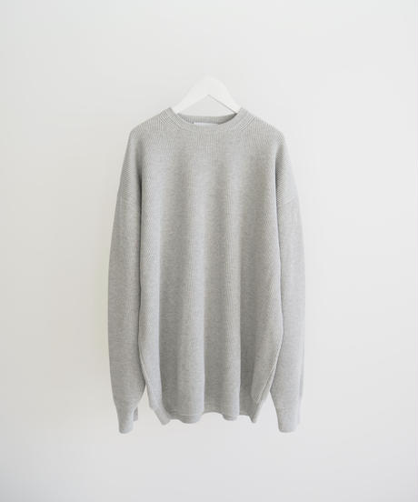 "Graphpaper ""High Density Knit Crew Neck"" grey"