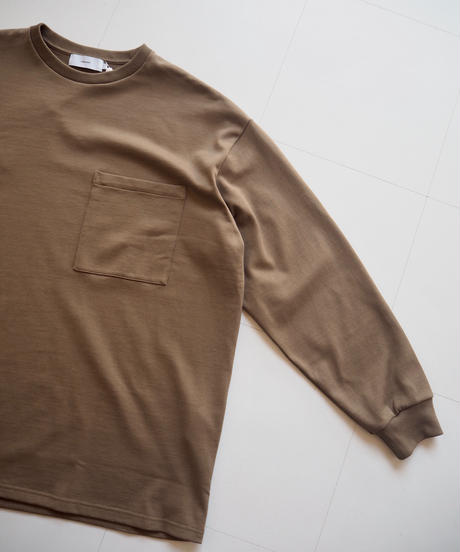 """Graphpaper """"Heavy Weight L/S Oversized Tee"""" Khaki"""