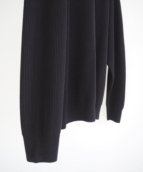 "Graphpaper ""High Density Cotton Knit Cardigan"" black women"