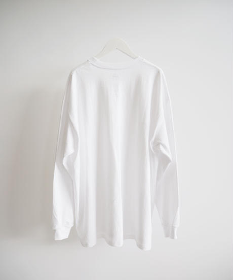 "Graphpaper ""L/S Oversized Tee"" white"