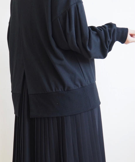 """Graphpaper """"Sweat Balloon Sleeve Pull Over"""" Black women"""