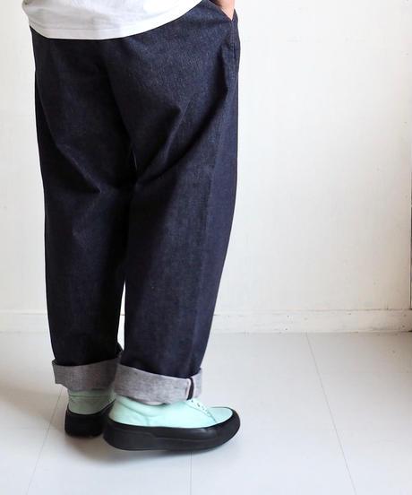 """Graphpaper """"ColorfastDenim 2Tucks Pants"""" men"""