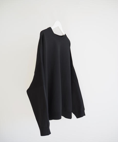 "F/CE.® ""Washable Long Knit Tee"" black"