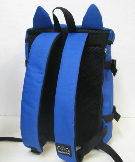 ねこぶち猫耳BOXリュック(ブルー) 51855002BL