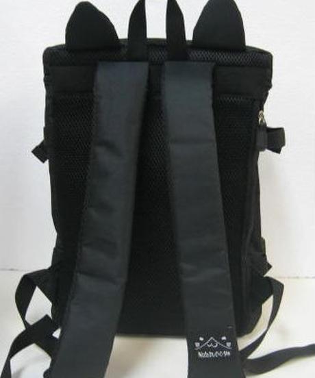 ねこぶち猫耳BOXリュック(ブラック) 51855002BK