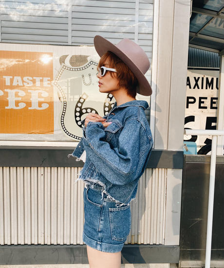 Vintage cut denim jacket