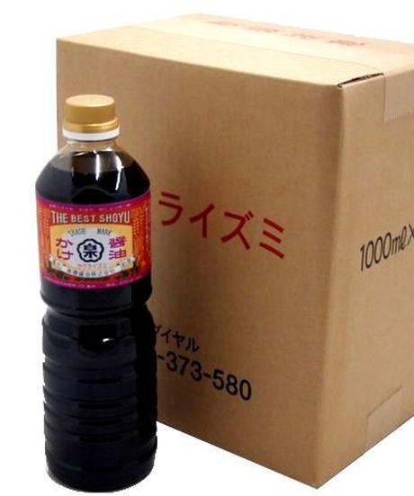 徳用まとめ買い かけ醤油(1Lペットボトル×6本セット)