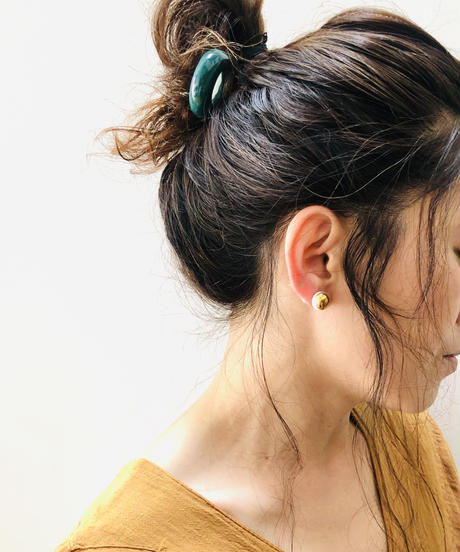 juju made / English porcelain hair stick / ジュジュメイド / 簪 / 陶磁器