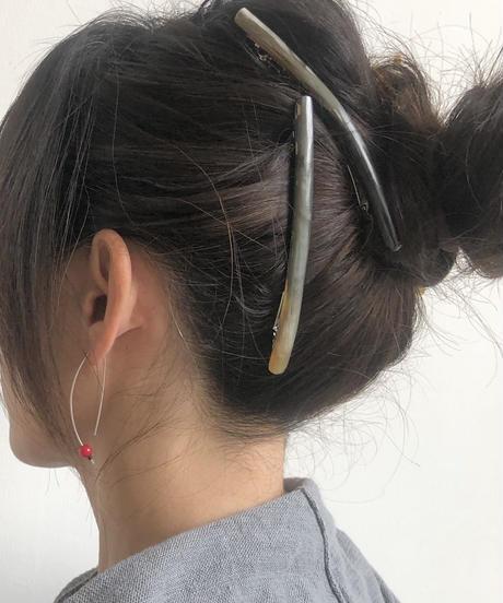 kostkamm / extra slender horn hair clip 10cm