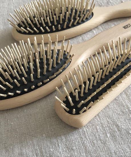 kostkamm  /  waxed beech  wood   hair Brushes / 21.5 cm / 4510