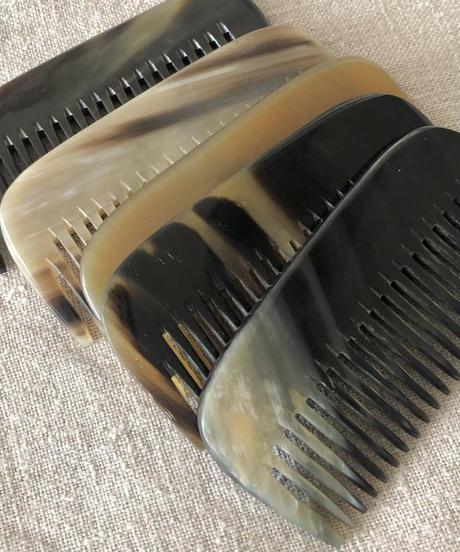 Kostkamm / pocket  comb / 8cm / wide