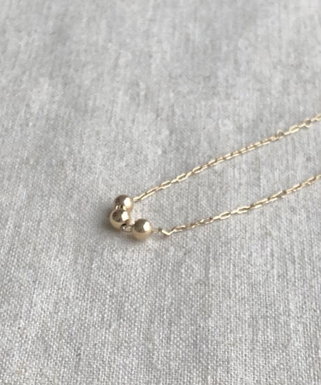 cinq / galaxy necklace / 14 k gold  filled