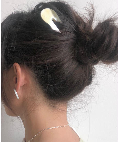 kostkamm / horn decorative comb  / 10 cm  / 9432