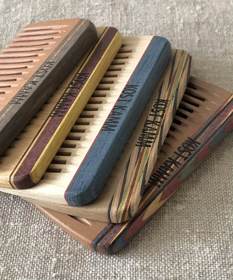 kostkamm /mini pocket comb / 8cm / wide / 19b