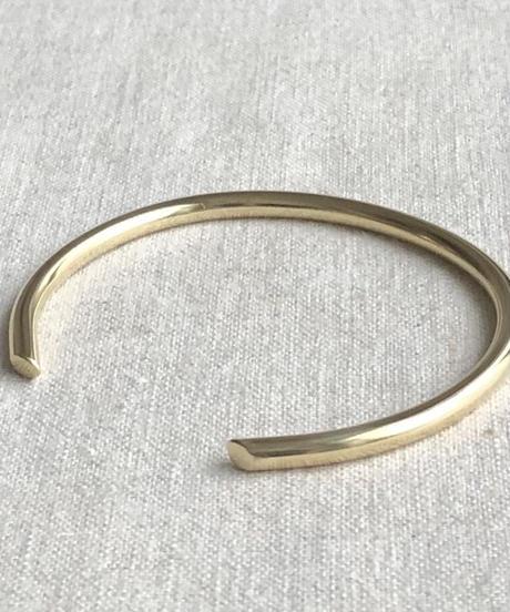 cinq / Bauhaus cuff  / brass