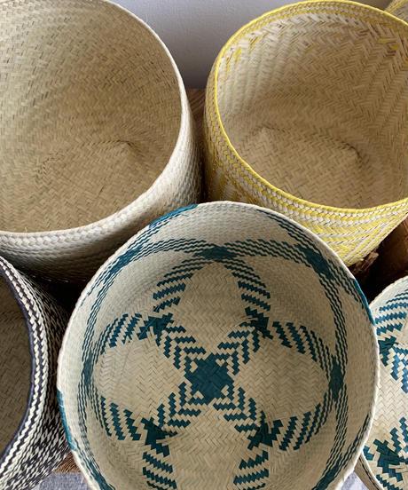 Palm Leaf Basket / Pattern Model / Small Size_A