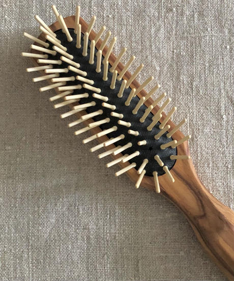 kostkamm /olive wood   hair Brushes / 21cm / 4507