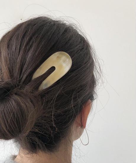 kostkamm / horn decorative comb  / 10 cm  /9431