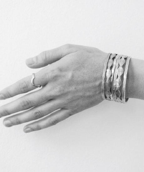 datter industries/ Hatch bangle / silver