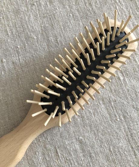 kostkamm  /  waxed beech  wood   hair Brushes / 21.5cm