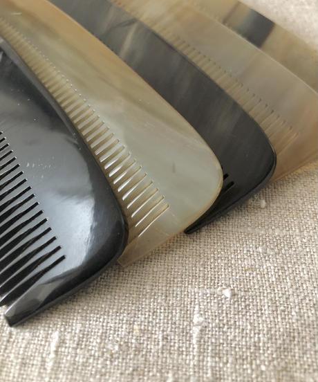 Kostkamm / Horn pocket  comb / 13,5cm / 150H