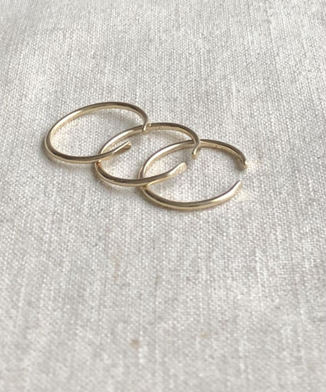 cinq / Clean  ring  / 14K gold filled