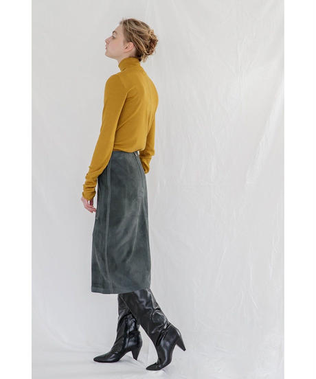 [19AW] SUEDE LEATHER SKIRT