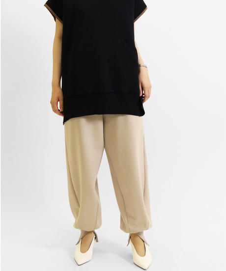 [21AW] DOUBLE-KNIT VOLUME PANTS