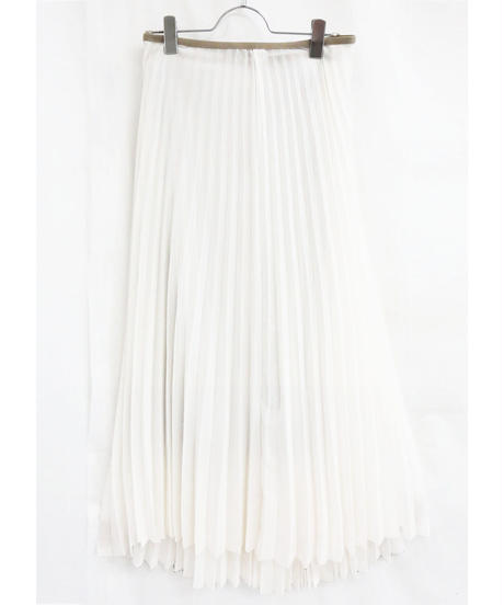 [20AW] CHIFFON GEORGETTE PLEATED SKIRT