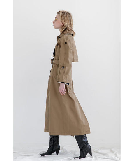 [19AW] BI-COLOR TRENCH COAT
