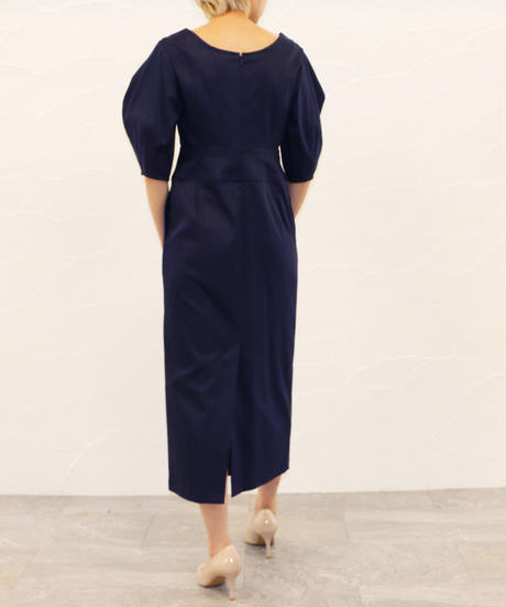 [20AW] VOLUME SLEEVE ONE-PIECE