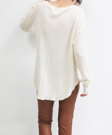 at home collection : ORGANIC COTTON WAFFLE TOPS