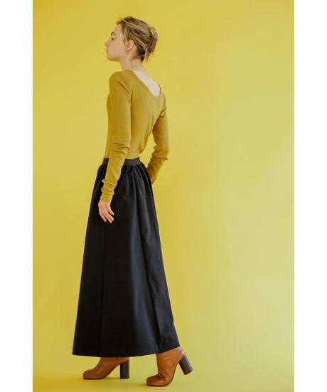 [19AW] SWEAT LONG FLARE SKIRT