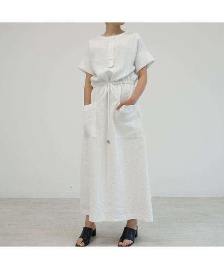 [20SS] RAMIECOTTON WIDE SLEEVE ONE-PIECE