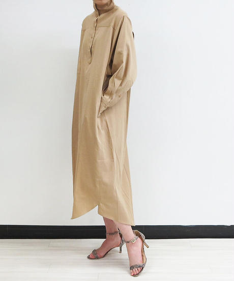 [21SS] HIGH NECK SHIRT ONE-PIECE