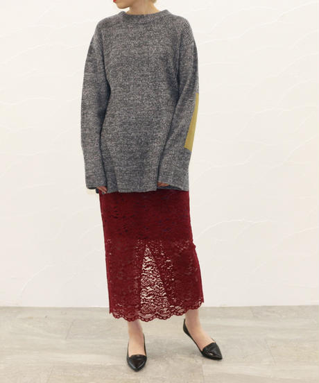 [20AW] MELANGE KNIT TOPS