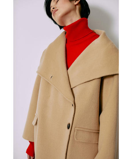 [21AW] MERINO WOOL BIG COLOR OUTER