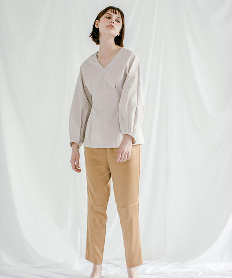 [21SS] STRETCH SATIN TAPERED PANTS