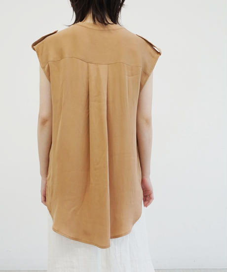 [20SS] STRETCH SILK BLOUSE