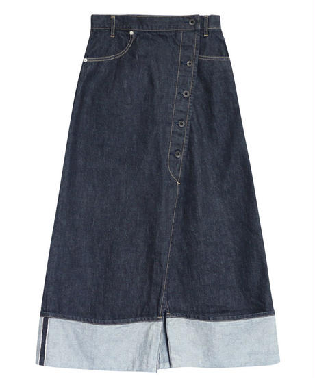 [19SS] SELVAGE DENIM SKIRT