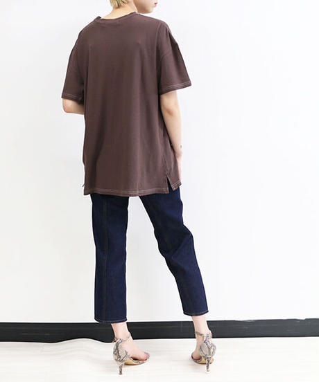 [21SS] SOOBIN CREPE OVER T-SHIRT