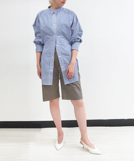 [21SS] TUCK DESIGN BERMUDA SHORTS