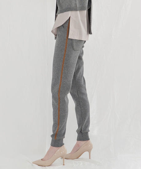 [19AW] KNIT LONG JOGGER PANTS